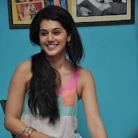 Cute tapsee in skirt