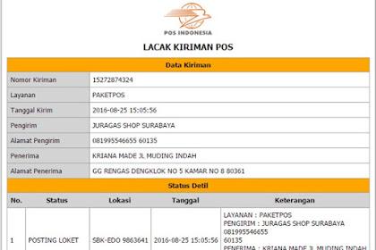 Sedikit Kecewa dengan Pelayanan Pos Indonesia