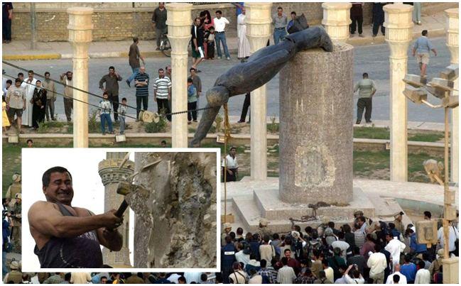 Profil Penghancur Patung Saddam Hussein, Sekarang Menyesal