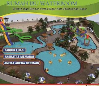 Tiket masuk Rumah Ibu Waterboom Cibinong Bogor