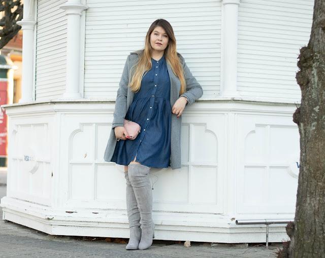 Jeansowa Sukienka Klasyk w twojej szafie!