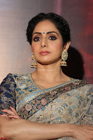 Sri Devi in designer saree stunning beauty at the launch of MOM movie Trailer~  Exclusive 062.JPG