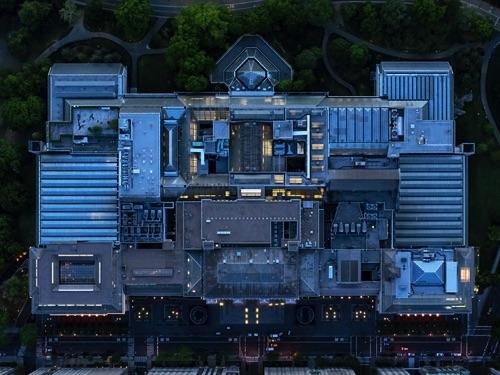 by Jeffrey Milstein - NYC Met | chidas fotos cool stuff - aerial vision of NYC