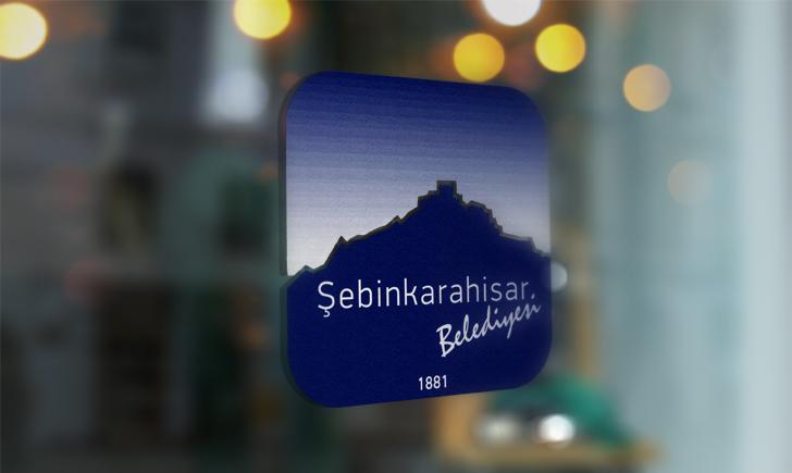 Giresun Şebinkarahisar Belediyesi Vektörel Logosu