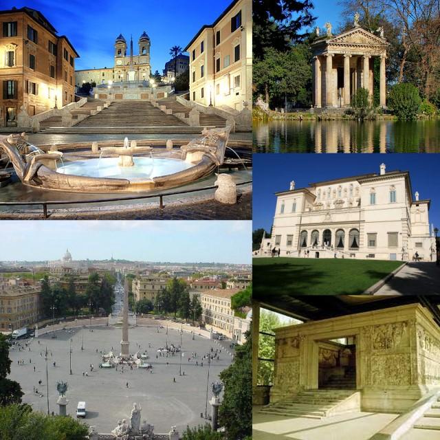 360b34f88b3 Para este há  A Piazza Barberini com duas fontes de Nice