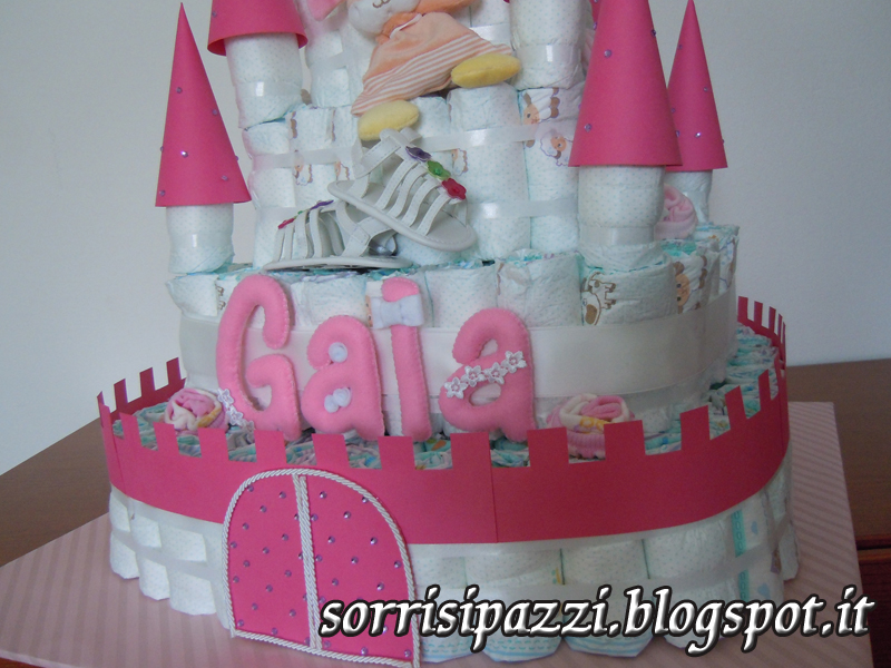 Top Sorrisi Pazzi :): Castello di pannolini UC58