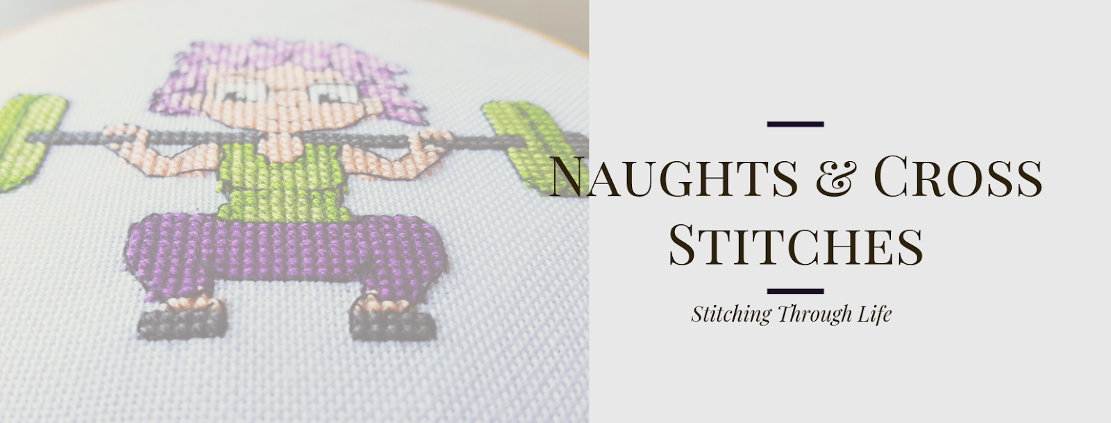 Naughts & Cross stitches