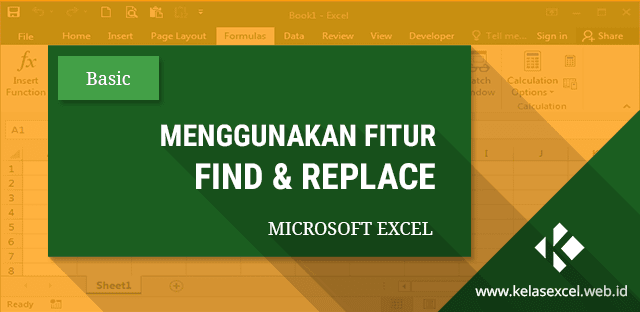 FIND and REPLACE Microsoft Excel