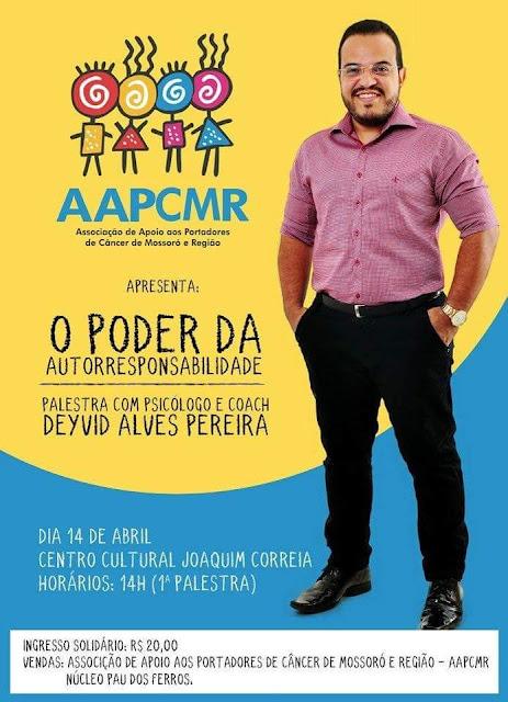 Resultado de imagem para Psicólogo realiza ação em prol do Núcleo da AAPCMR em Pau dos Ferros