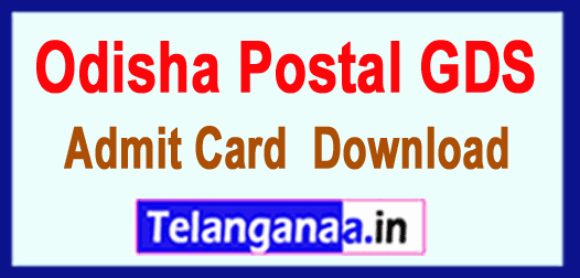 Odisha GDS Gramin Dak Sevak Result 2019 Selected List All India Govt