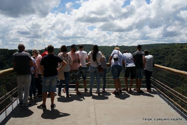Cascata do Caracol no Parque Estadual do Caracol em Canela