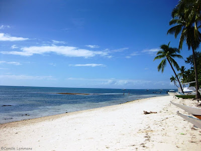 Malapascua beach in the Philippines