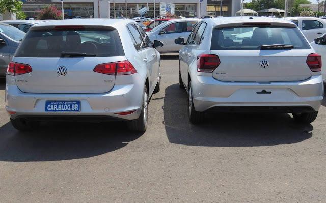 VW Polo 2018 x VW Golf