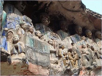 หินสลักต้าจู๋ (Dazu Rock Carvings)