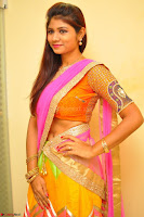 Lucky Sree in dasling Pink Saree and Orange Choli DSC 0361 1600x1063.JPG