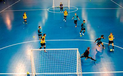 Lapangan, Peraturan dan Teknik Bermain Futsal