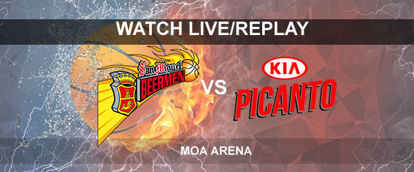 List of Replay Videos SMB vs Kia September 16, 2017 @ Mall of Asia Arena