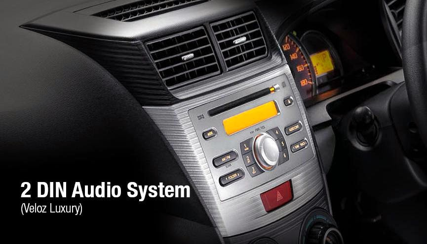 Toyota New Avanza Luxury 2 din audio system