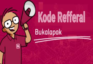 Cara membuat dan menggunakan kode referral bukalapak
