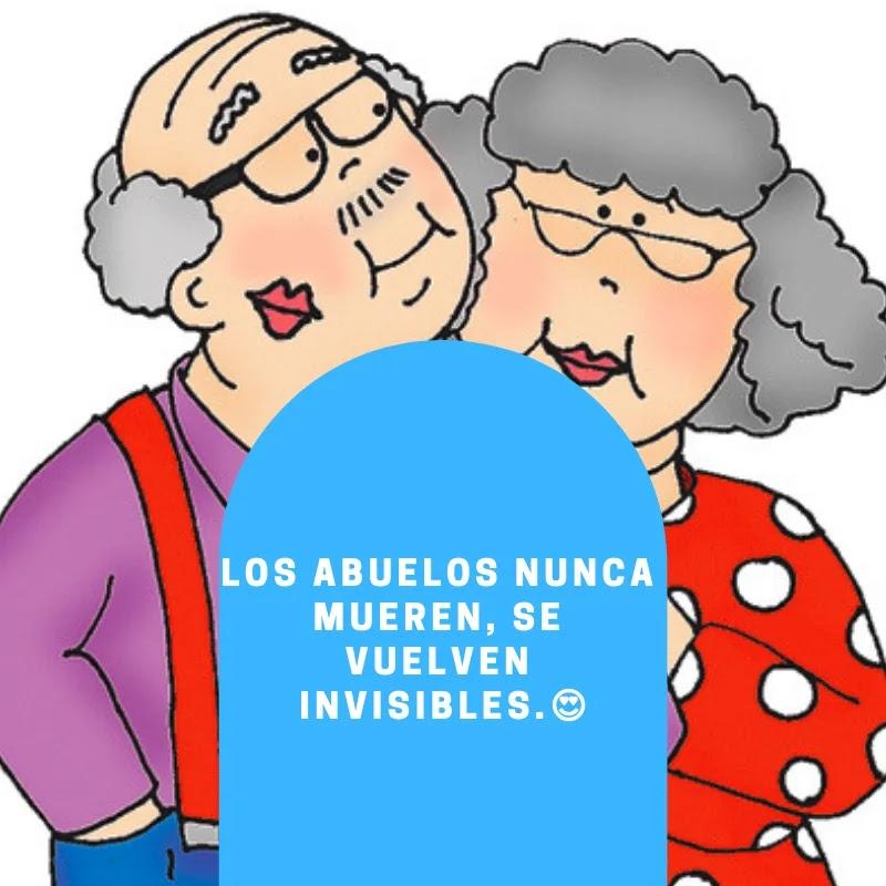 Frases Para Los Abuelos Fallecidos En El Cielo Con Imágenes