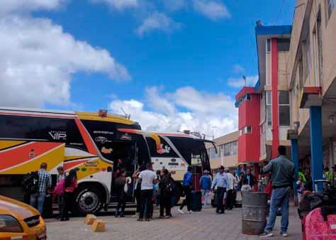 Cooperativa de Transportes Panamericana en Tulcán