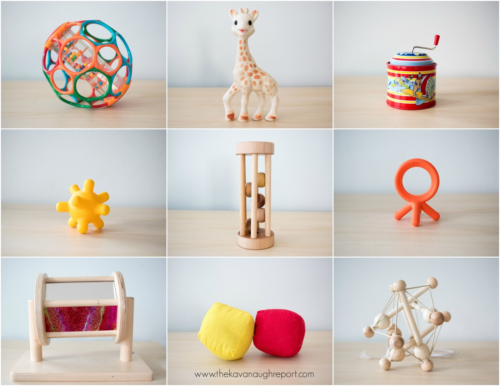 Montessori Friendly Baby Toys at 6 Months