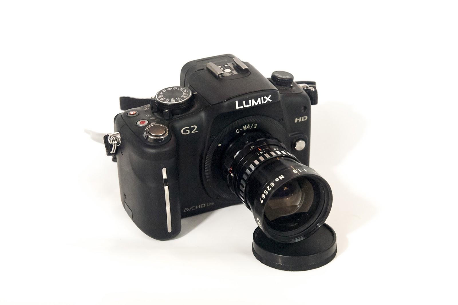 Cosmicar 12.5/1.9 on Lumix G2 (Micro Four Thirds camera).