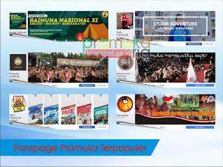 Fanspage Pramuka Populer