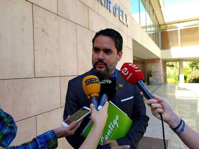 David Caballero creará un plan de apoyo al emprendedor dotado con 1,5 millones de euros para fomentar el empleo en Elche