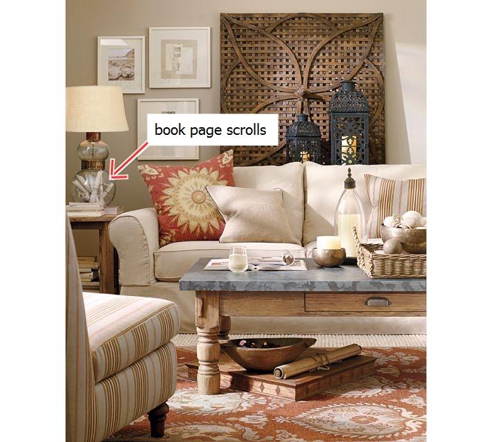 Diy Pottery Barn Book Page Scrolls A Beautiful Home Decor Idea
