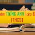 SÁNG KIẾN KINH NGHIỆM MÔN TIẾNG ANH THCS (Skkn tiếng anh 6, 7, 8, 9)