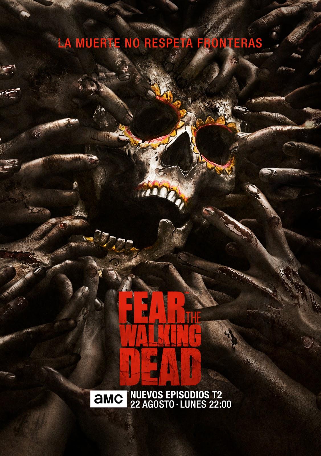 Póster oficial de la segunda parte de la T2 de 'Fear the Walking Dead' y adelanto del próximo episodio
