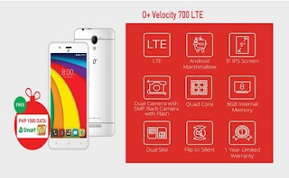 O+ Velocity Supports 700 Mhz LTE – Comes With Free Data by Smart