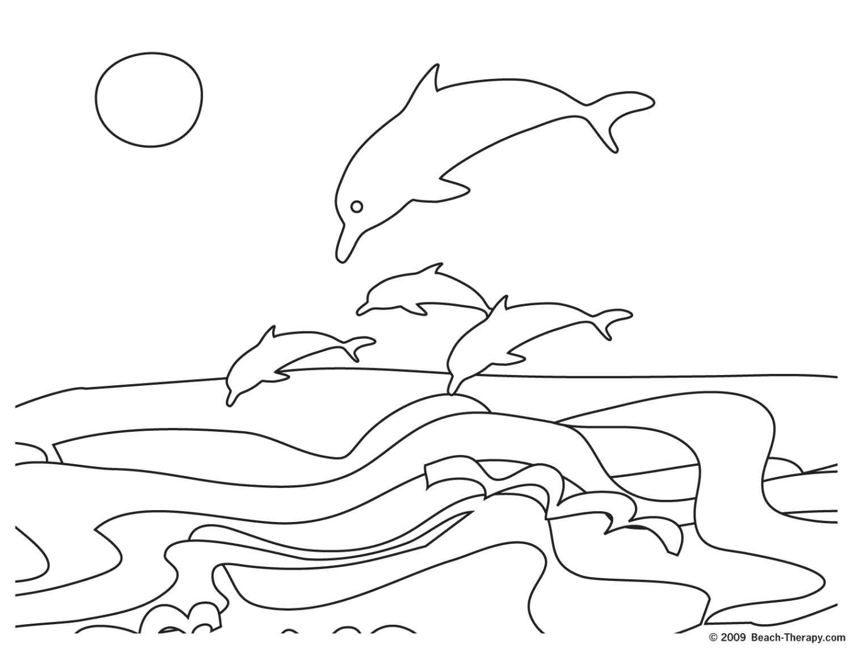 Sketsa Gambar Dunia Bawah Laut Sobsketsa