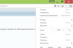 Cara Memasang Dan Memunculkan Ekstensi IDM Pada Google Chrome