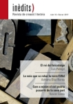 'INÈDITS - Revista de creació literària - Núm. 10 - Gener 2017'