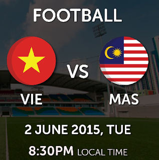 Live streaming Malaysia Vs Vietnam 2 Jun 2015 Sukan SEA
