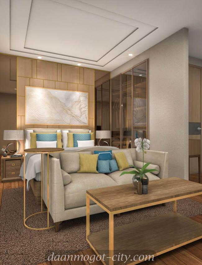 Contoh Interior Design Apartemen Daan Mogot City
