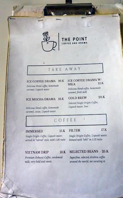 Daftar harga dan menu di Coffee & Drama Demangan