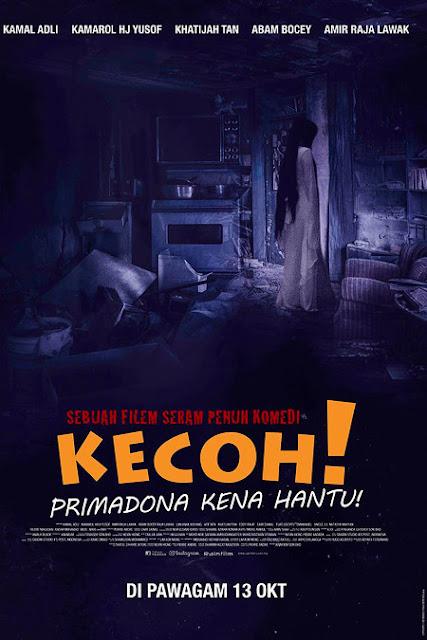 Download Film Kecoh! Primadona Kena Hantu (2016) HDTV Full Movie