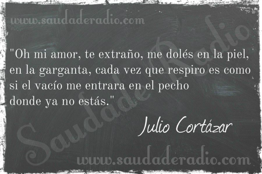 Frasesamor Frases De Amor De Julio Cortazar Rayuela
