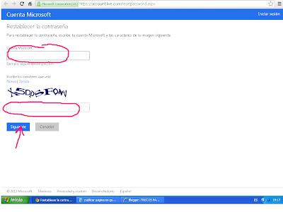 Como puedo recuperar mi Contraseña de Hotmail rapido