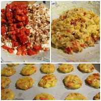 Collage cookies con chorizo y nueces