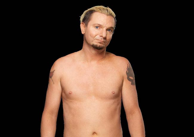 WWE pro wrestler James Ellsworth undersized underdog jobber