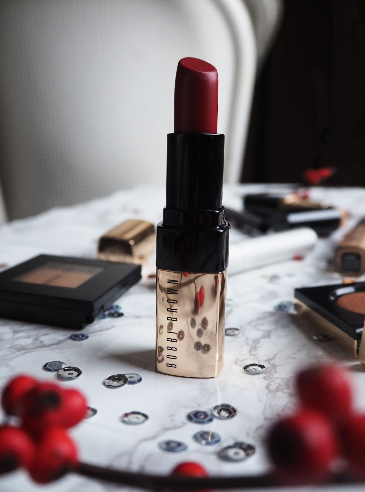 Red Velvet Luxe Lip Colour // A Christmas Make-up Look With Bobbi Brown // Beauty Post // Lauren Rose Style