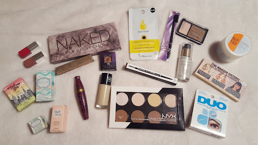 Haul // Urban Decay, Benefit, theBalm, NYX + More!