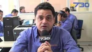 Comentarista Marcelo Borges na Aliança AM