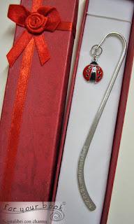 segnalibro metallo regalo laurea asta incisa