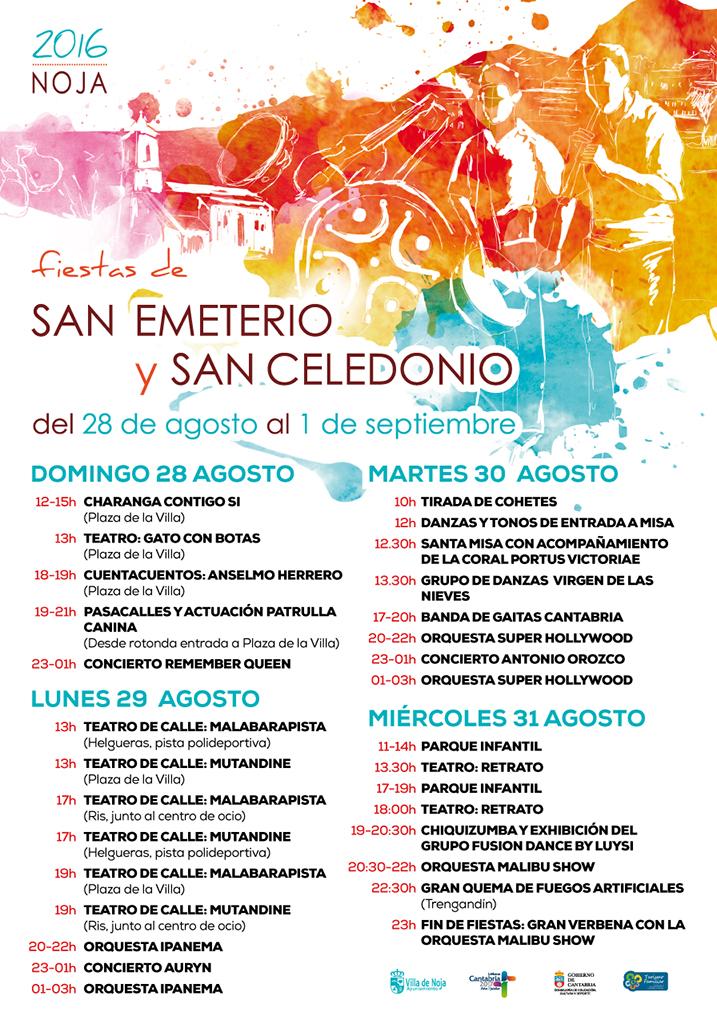 Fiestas de San Emeterio y San Celedonio 2016 en Noja