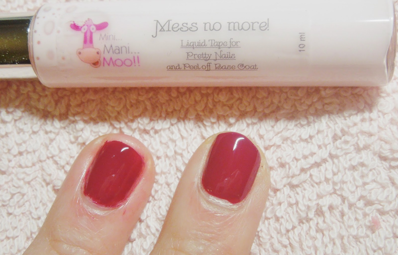 Mini Mani Moo!! ♥ Mess no more